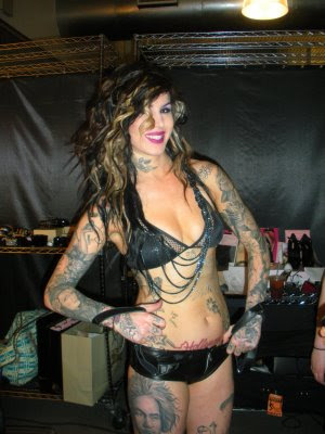 Kat LA Ink Tattoos Kat Von Dee covers it all up!
