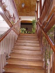 Escaleras de  Ingreso a la Casa del Deguello