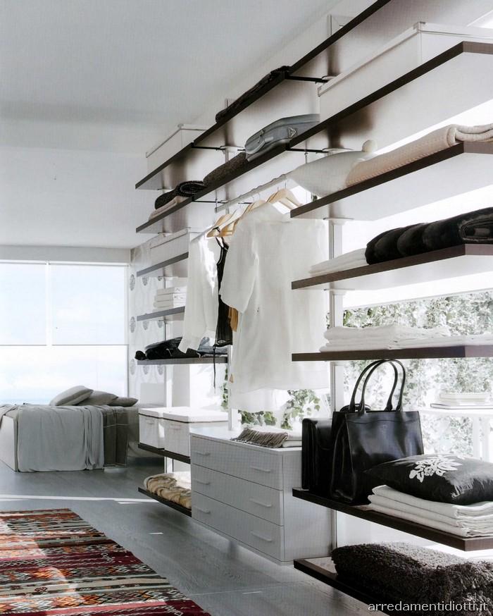 Arredamenti diotti a f il blog su mobili ed arredamento for Esempi di cabine armadio