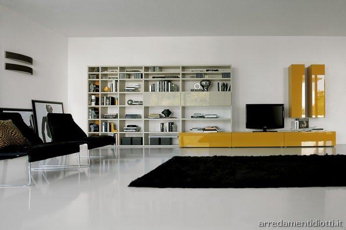 arredamenti diotti a&f - il blog su mobili ed arredamento d ... - Soggiorno E Cucina Moderna 2