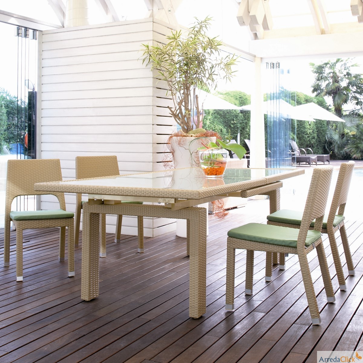 Arredaclick il blog sull 39 arredamento italiano online for Tavoli da giardino on line