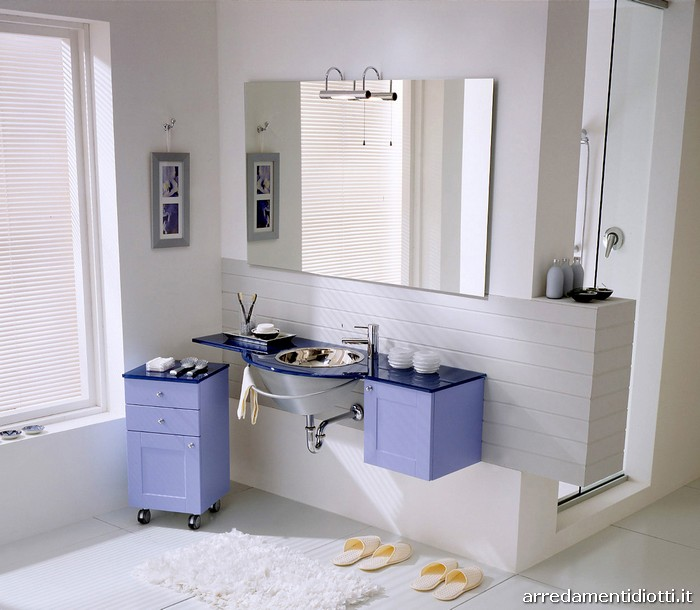 arredamenti diotti a&f - il blog su mobili ed arredamento d ... - Arredo Bagno Lilla