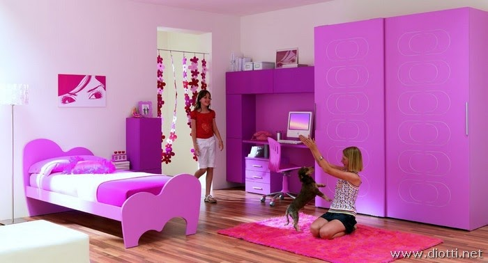 ... su mobili ed arredamento dinterni: Camerette per bambine da favola