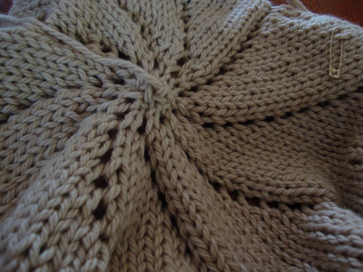 Pinwheel Knitting Pattern : Knits in Class: Pinwheel Baby Blanket