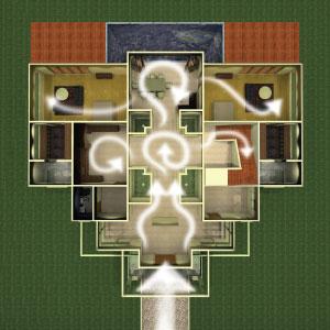 Vive sana feng shui energice su casa con un antiguo for Casa feng shui ideal