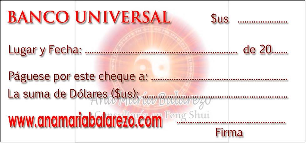 CHEQUE DE LA ABUNDANCIA Y PROSPERIDAD PARA ESTE 07 DE OCTUBRE DE 2010