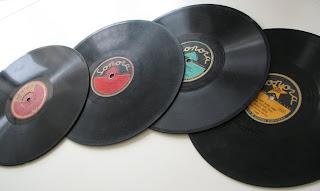 Vanhoja levyjä