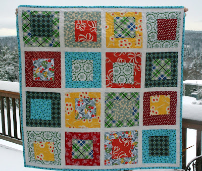 Quilt for Baby Boy ('Boys Will Be Boys' Quilt) - Craftfoxes