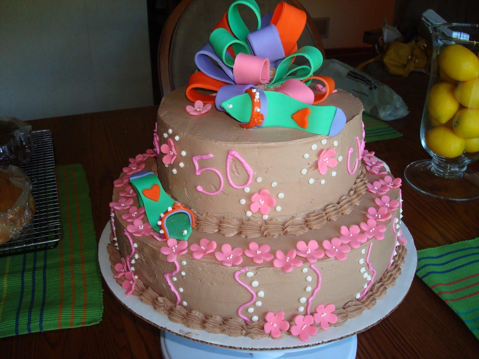 Welcome To Kieslers Kakes 50th Birthday Cake