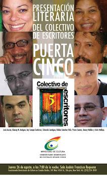 Presentación de Colectivo de Escritores Puerta 5