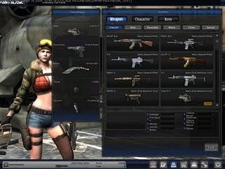 Yang unik dari game online point blank ini adalah memiliki senjata ...