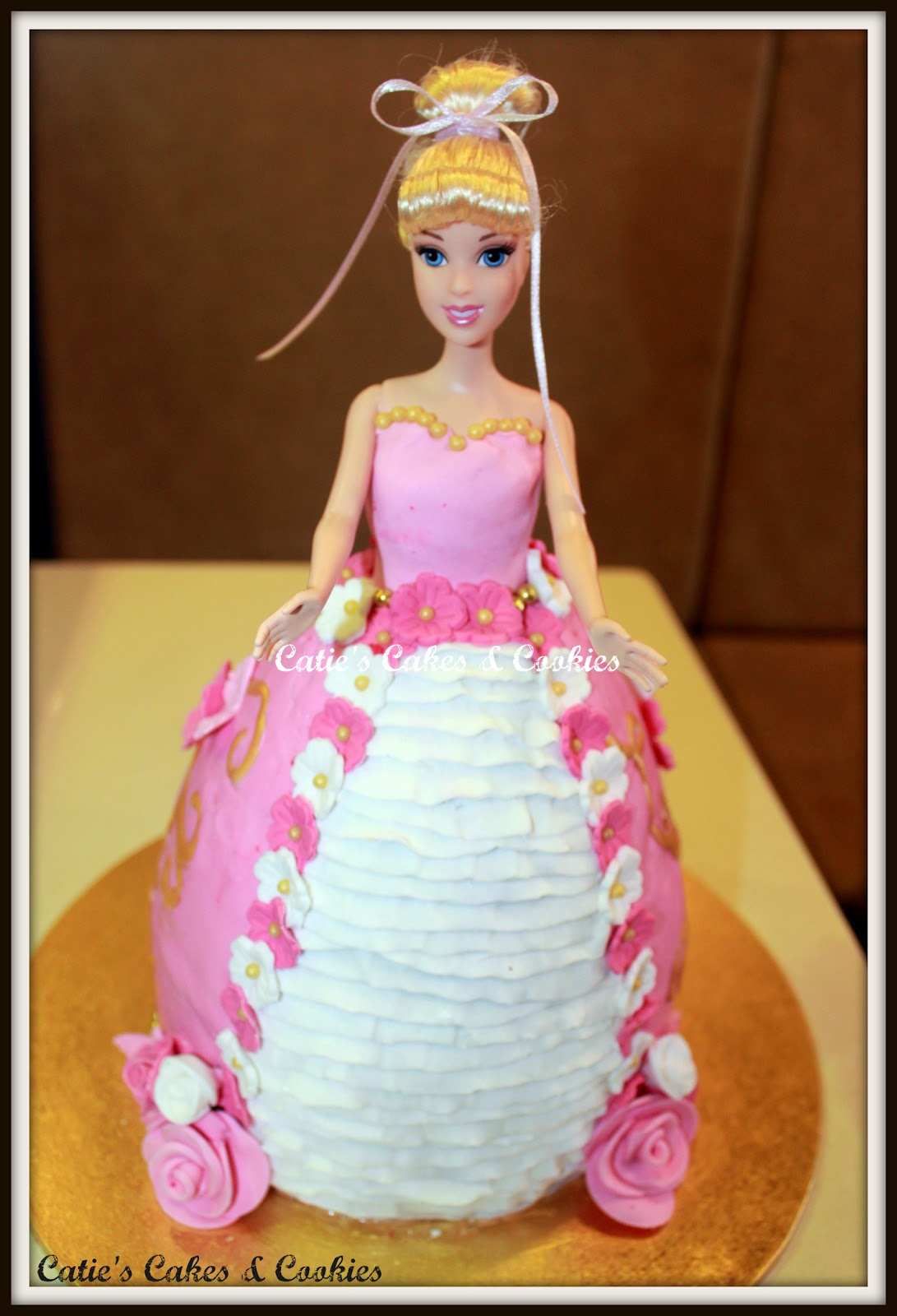Princess Doll Cake Pictures : Catie s Cakes & Cookies: Princess Doll Cake