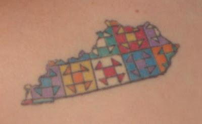 Blue Moon River: A quilt tattoo : quilt tattoo - Adamdwight.com