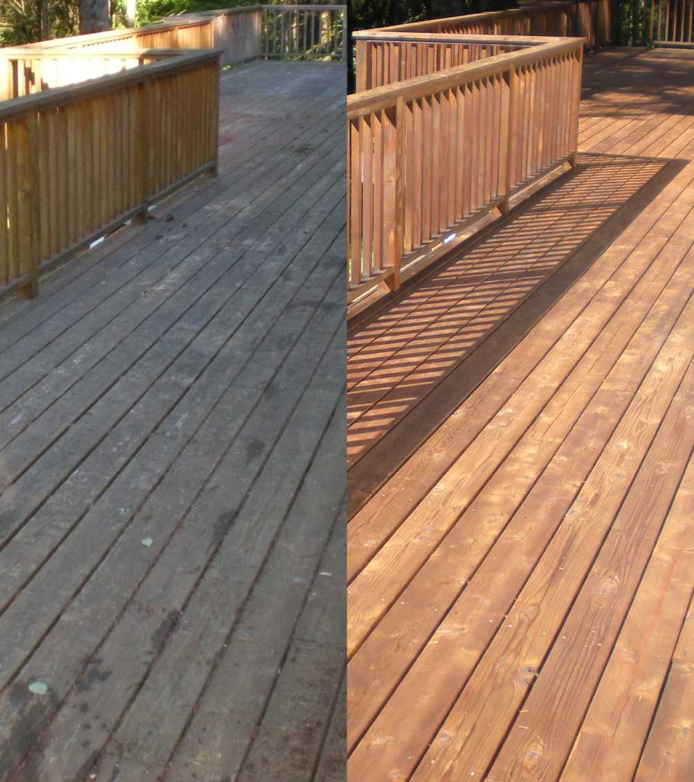 Cascade Powerwash Inc Deck Restoration In Battle Ground Wa