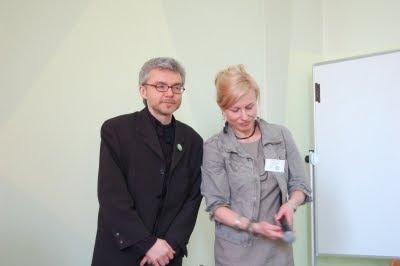 Dariusz Szwed and Małgorzata Tkacz-Janik