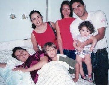 Eu, no hospital, SÃO MATEUS, nascimento do meu ultimo filho
