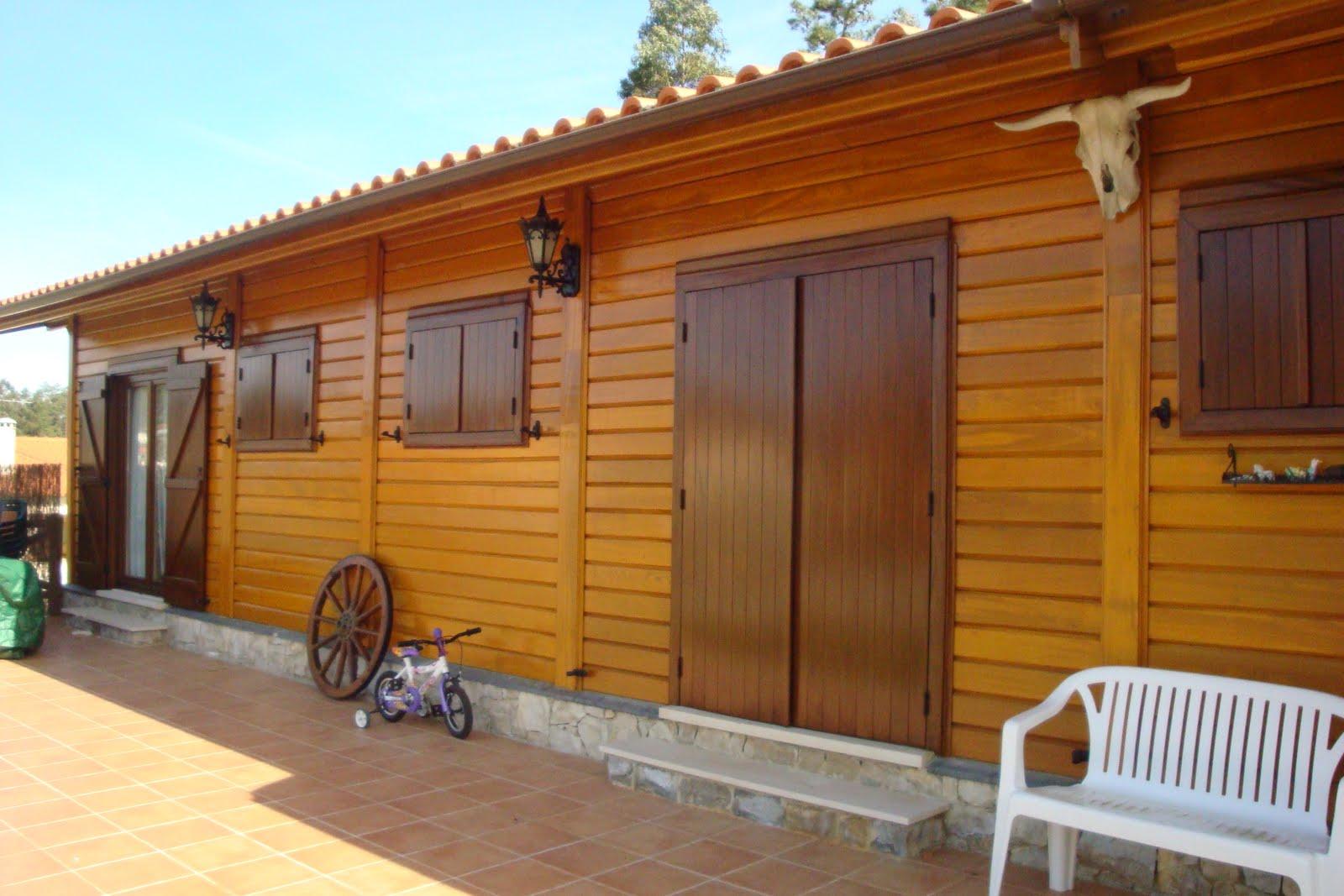 Pinturas em Casas de Madeira #B47F17 1600x1067