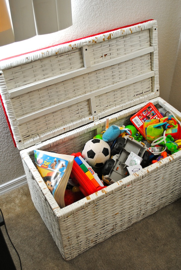 living room storage chest. Living Room Toy Box  Classy Clutter