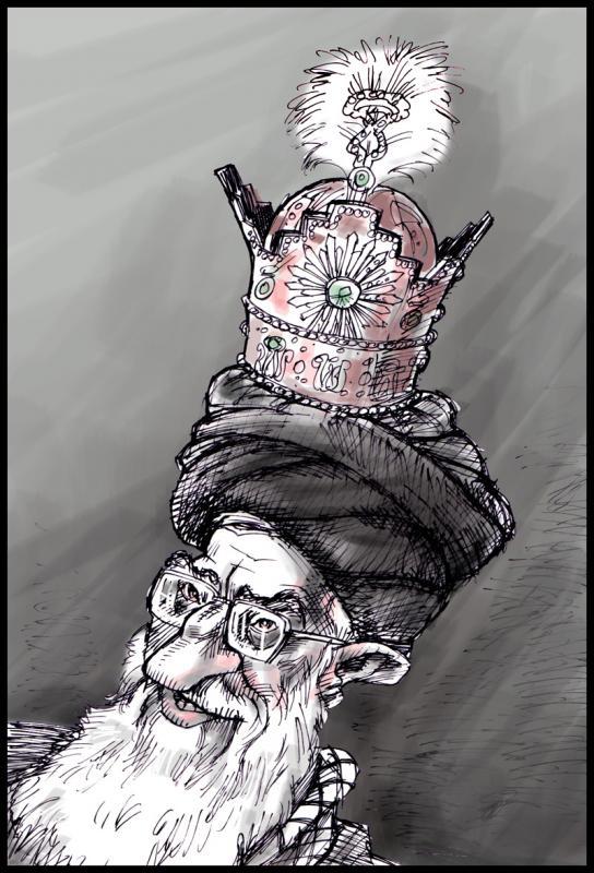 Image result for کاریکاتور سیدعلی شاه
