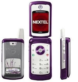 Nextel e Motorola se juntam em celular para a ala feminina
