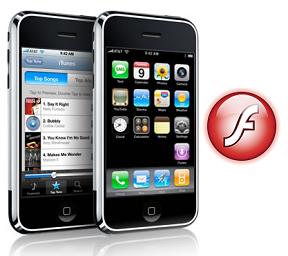 Adoble + Apple = FLASH para iPhone