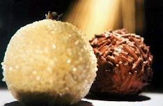 Brigadeiros Côco/Chocolate