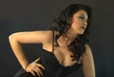 Hansika Motwani Hot Photoshoot Stills in Black Dress