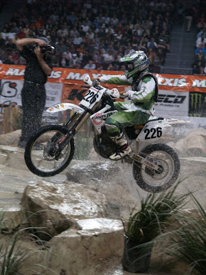 Wally Palmer at World EnduroCross Championship on Christini AWD KTM 250