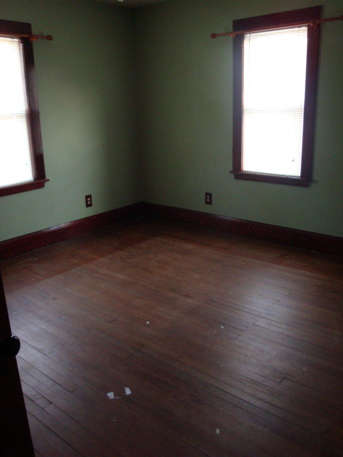 Dark Wood Doors And Floors With White Trim Wood Floors