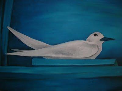 Uccello dal becco blu