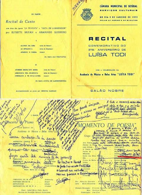 1º RECITAL POESIA 1972 de :