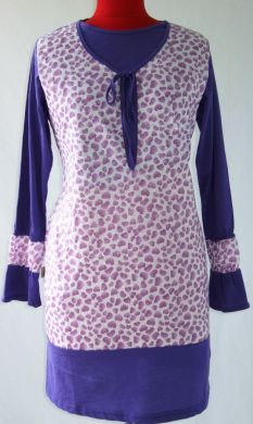 AQ195B GRAPE PUR HEART  SIZE (XS-2XL)