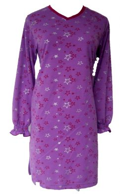 AQ152 PURPLE STAR SIZE S,M, L, XL,XXL (+RM3.00)