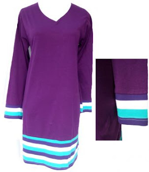 AQ249B GRAPE-MULTI COL (XS-XL) - MUSLIMAH T SHIRT