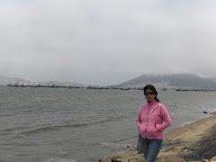 en la bahía