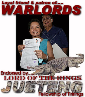 Warlord Patron Gloria Arroyo