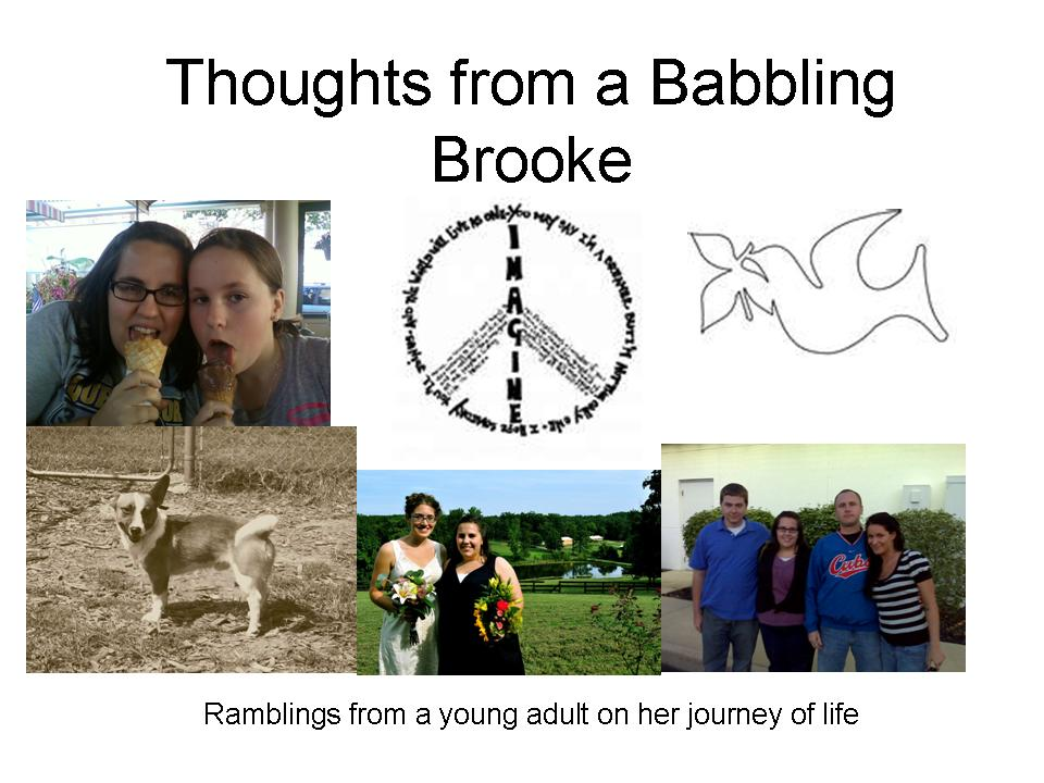 Thoughts from a Babbling Brooke