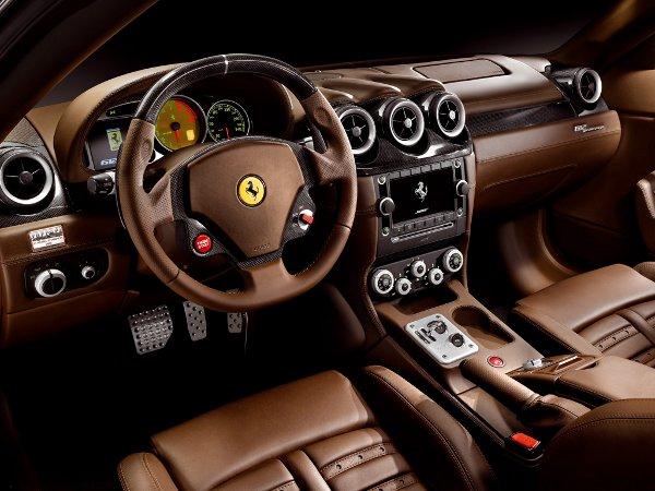 ferrari, ferrari cars pictures, Ferrari F430 spider interior picture