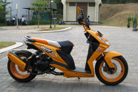Picture Honda Beat Modifikasi
