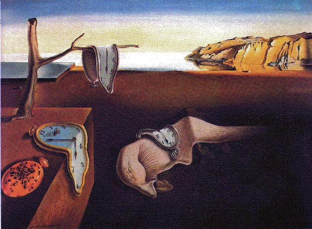 Dali's The Persistence of Memory