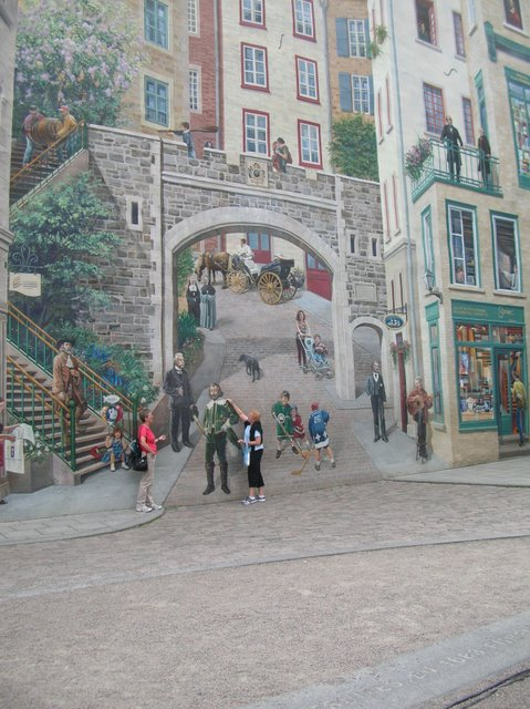 Quebec Mural