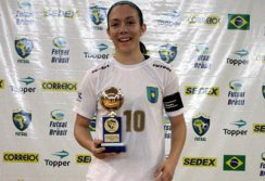 Women Top Score  Gabi  11 goals in 6 games Copa Brasil de Futsal