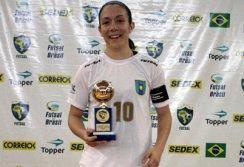 Women Top Score  Gabi  11 goals in 6 games Copa Brasil de Futsal