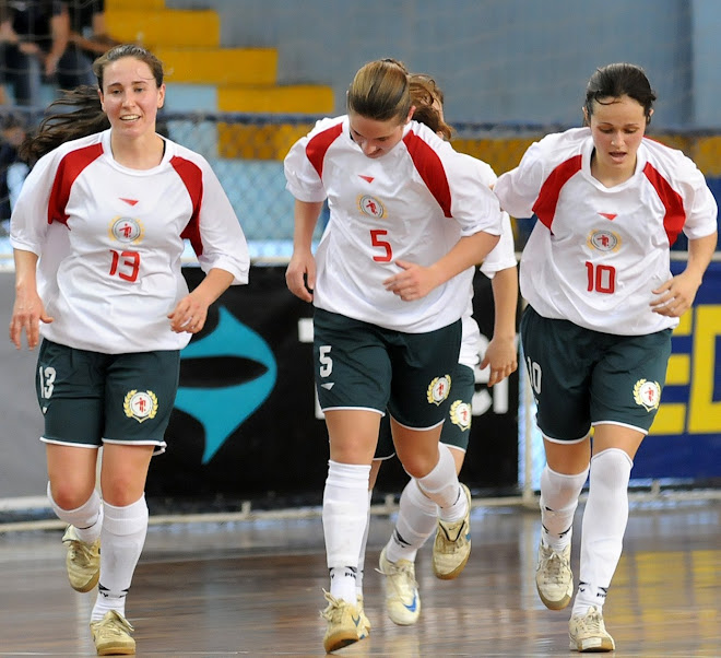 Futsal Catarinense Women Beat Ceara and are it he Final with Sao Paulo - Brazil Cup 2010