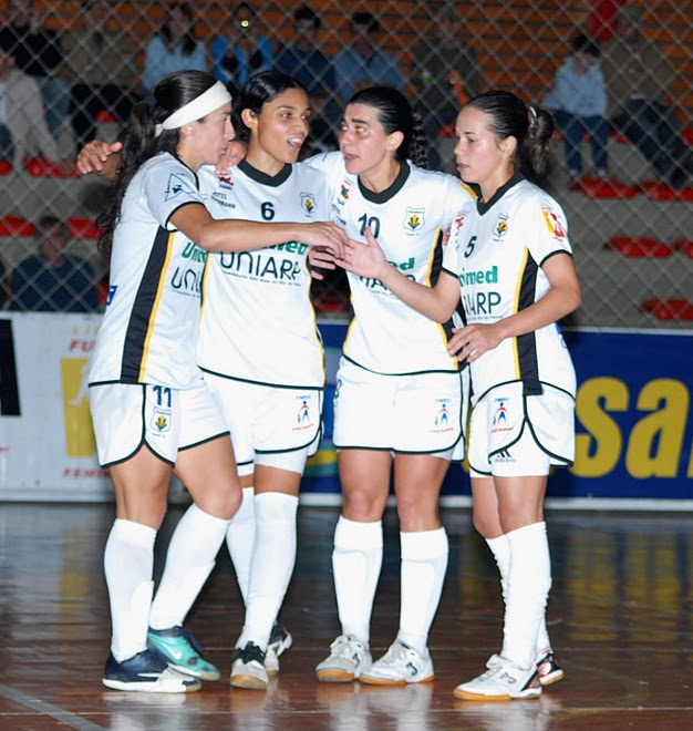 Women futsal: Brazilian National League Playoffs Kidermann Caçador 3 Versus UnoChapeco 2  .