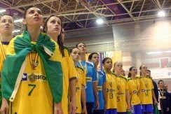 The girls from Brazil : They made fifa History in Spain in 2010