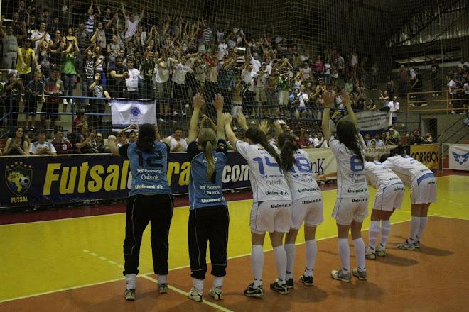 City of Chapeco in Brazil really supports women futsal