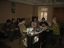 მოსწავლეები სტუმრად ქალბატონ ლიანასთან