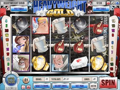Heavyweight Gold i-slot - Play Now