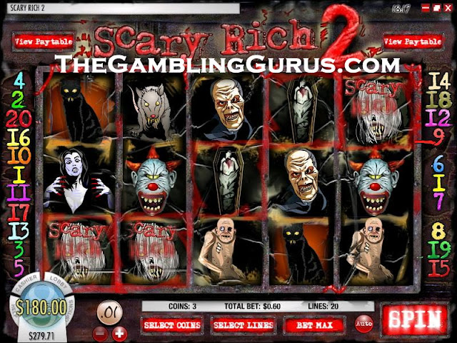Scary Rich2 Winning Screenshot @ Paradise8 Casino
